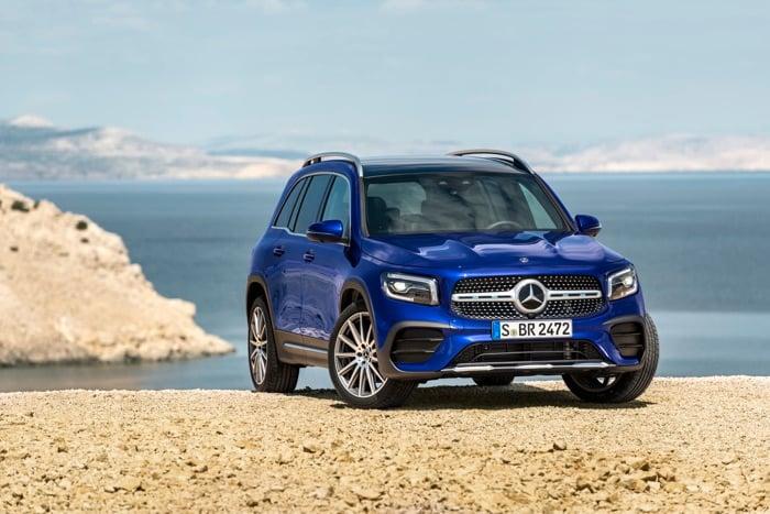 New Mercedes GLB SUV starts at £34,200 OTR