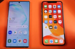 Samsung Galaxy Note10+ vs iPhone XS Max