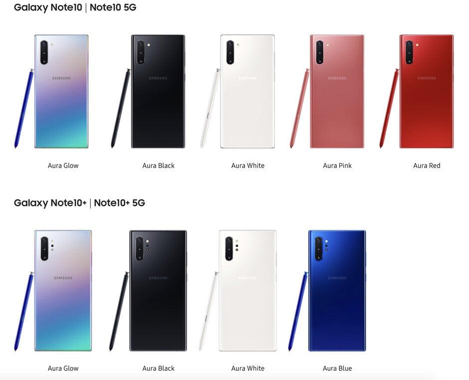 Amazon Com Samsung Galaxy Note 10 Factory 11