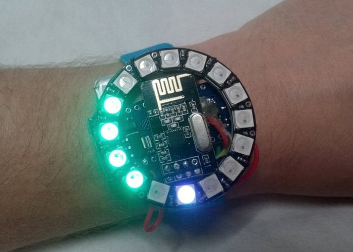 Arduino wearable heart rate monitor