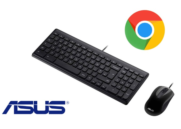 ASUS Chrome OS keyboard and mouse bundle launches in the UK