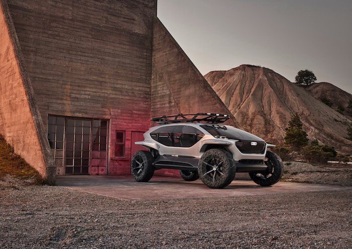 Audi AI: Trail Quattro Makes Offroad More Futuristic