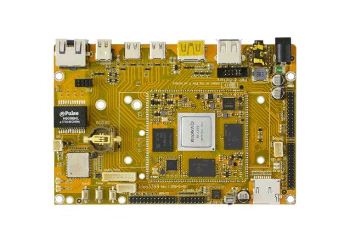 Boardcon Idea3399 mini PC