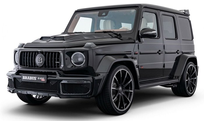 Brabus G V12 900 One of Ten SUV unveiled, has 900 HP
