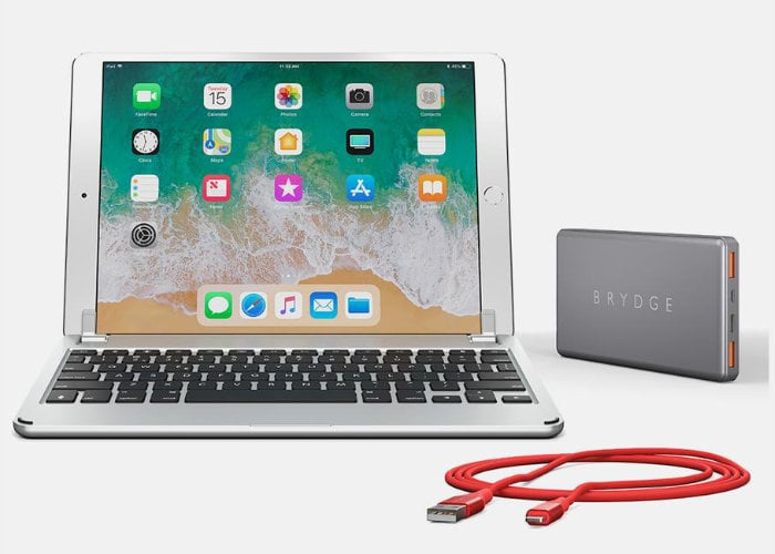 New Brydge 10.2-inch aluminium iPad keyboard case launches for $130