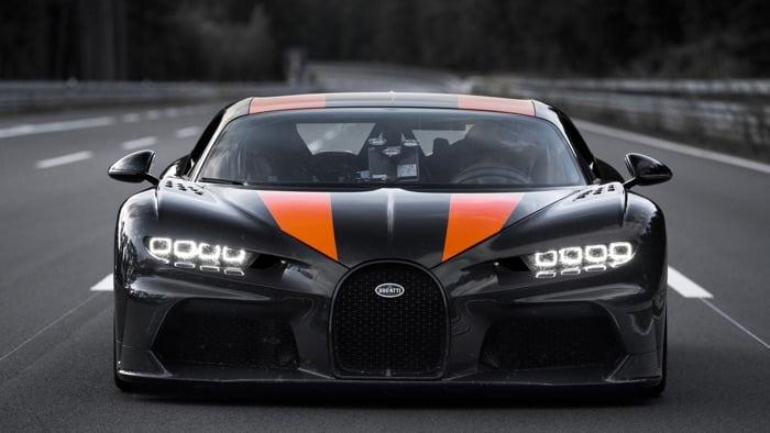 Image result for Video: Bugatti Chiron breaks 300mph barrier