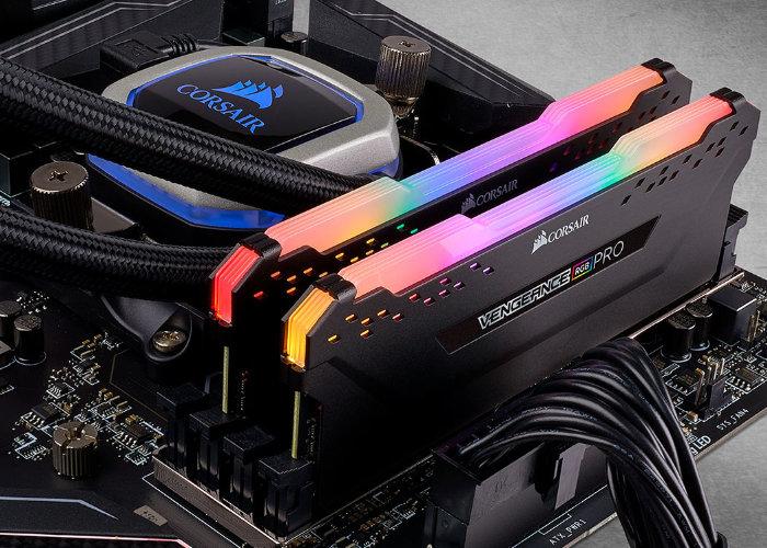 CORSAIR 4866 MHz Vengance LPX DDR4 memory
