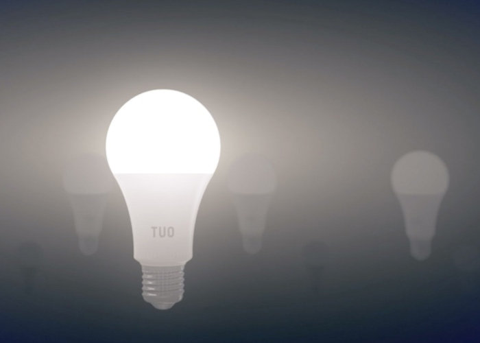 """TUO circadian smart bulb provides """"energized days and restful nights"""""""