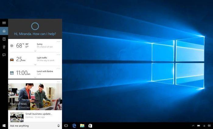 Windows Users Reporting That Cortana Is A PC Resource Hog