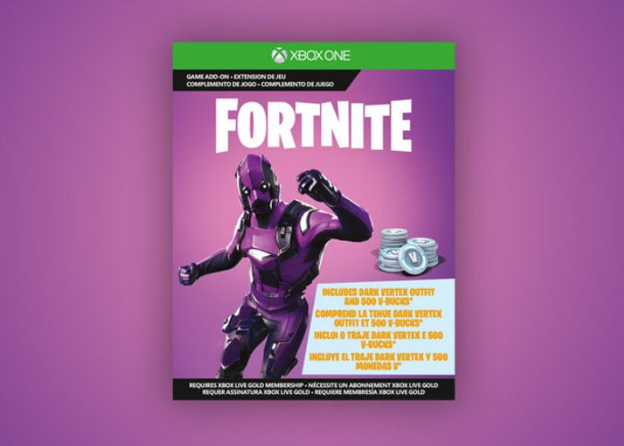 Fortnite Xbox controller