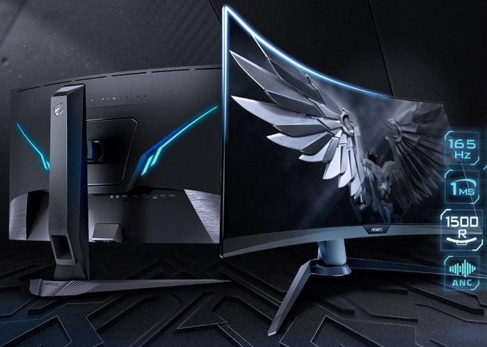 Gigabyte AORUS CV27Q 27-inch QHD gaming monitor