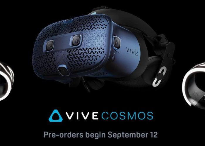 HTC Vive Cosmos preorders