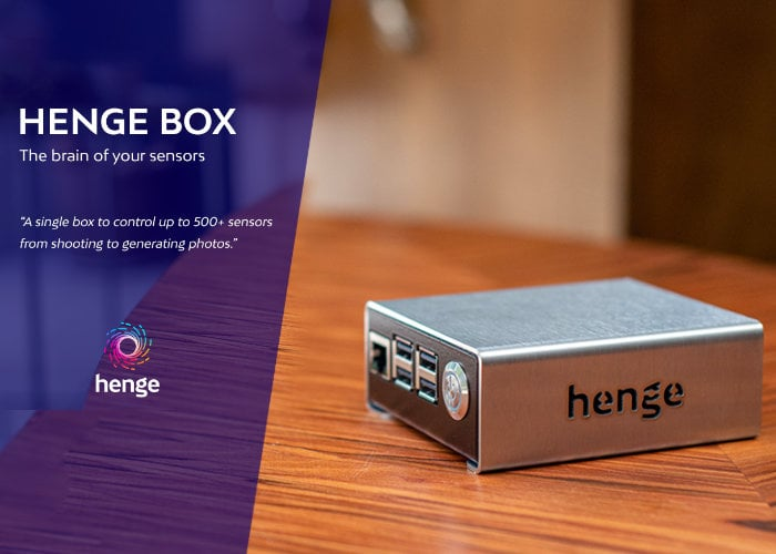 Raspberry Pi powered Henge Box can control 500+ sensors