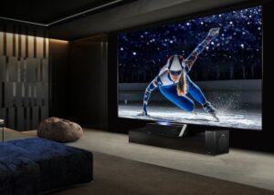 Hisense 4K Ultra HD Smart Dual Colour Laser TV