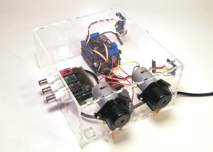 HydroBot automated hydroponic system