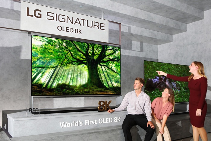 New LG 8K OLED TVs launched - Geeky Gadgets
