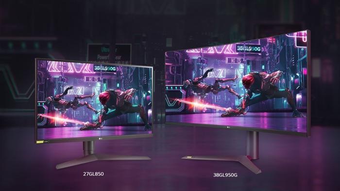 LG UltraGear Gaming Monitors