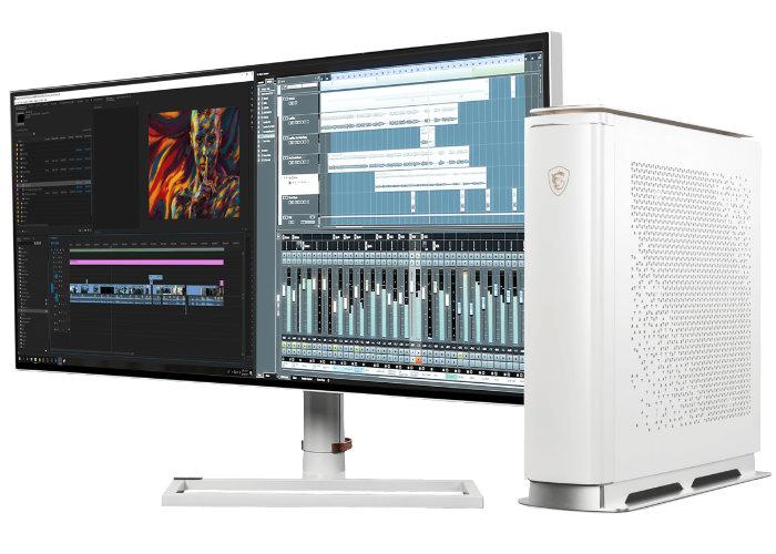 MSI Prestige desktop PC system