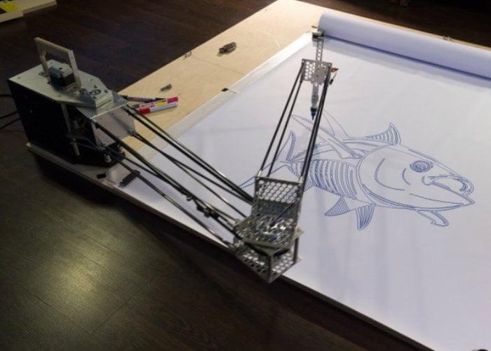 Mechpen robot arm DIY pen plotter
