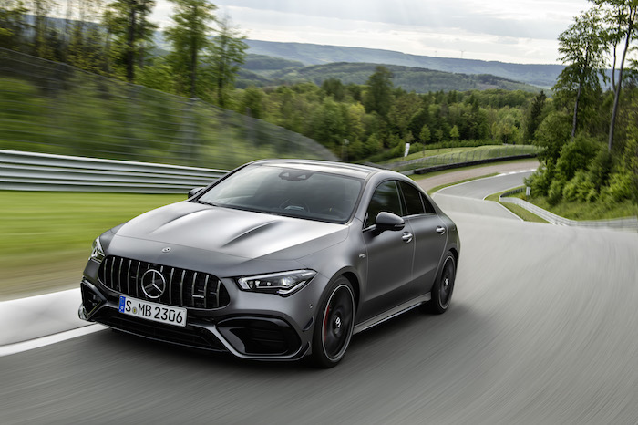 Mercedes-AMG A 45 S and Mercedes-AMG CLA 45 S