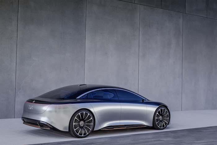 Mercedes Benz Vision EQS
