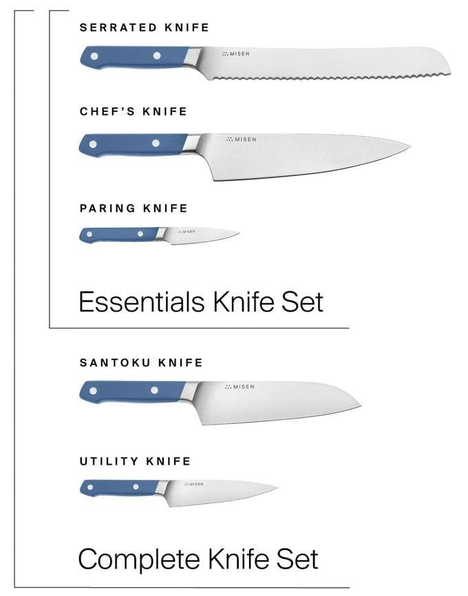 Misen Knife Set
