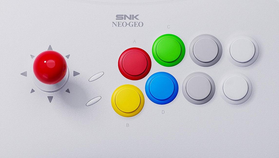 Neo Geo Arcade Stick Pro Buttons
