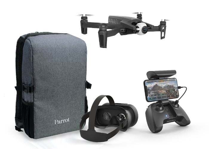 New Parrot Anafi drone