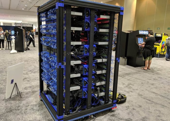 Raspberry Pi supercomputer built by Oracle combines 1,060 Pi PCs - Geeky Gadgets