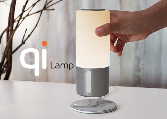 Qi Lamp
