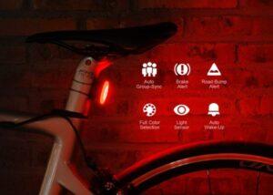 Raz Pro smart bicycle tail light