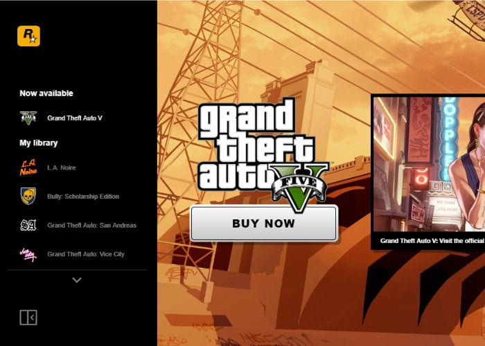 The new Rockstar game launcher makes GTA5 always online