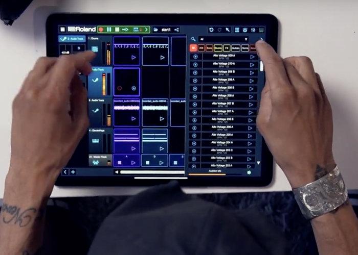 Roland Zenbeats app