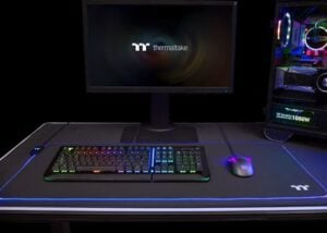 Thermaltake Level 20 RGB gaming mousepad series expands