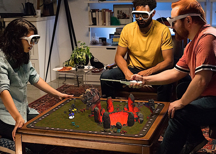 Tilt Five holographic tabletop gaming experience