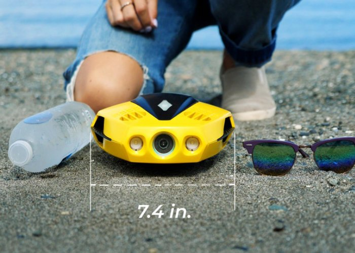 Dory underwater drone camera for fishing and exploration