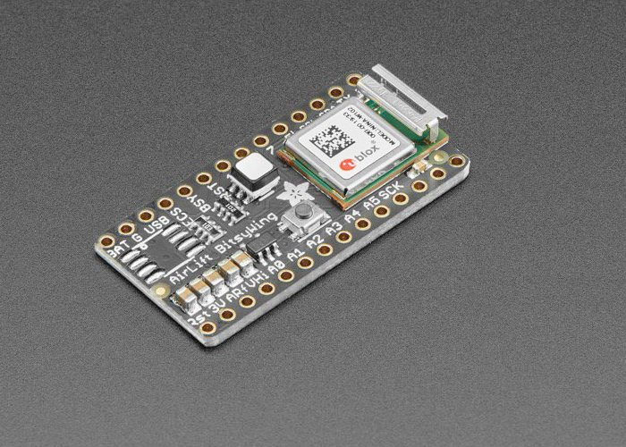 AirLift Bitsy add-on ESP32 WiFi co-processor now available from Adafruit