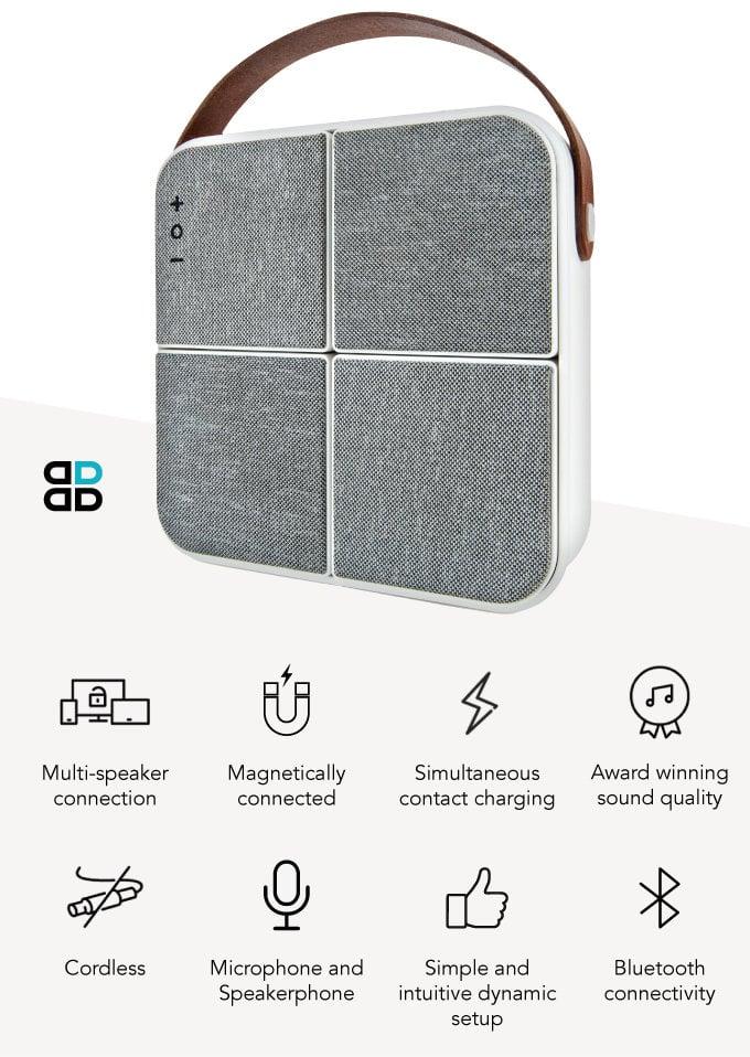 Wireless surround sound speakers features