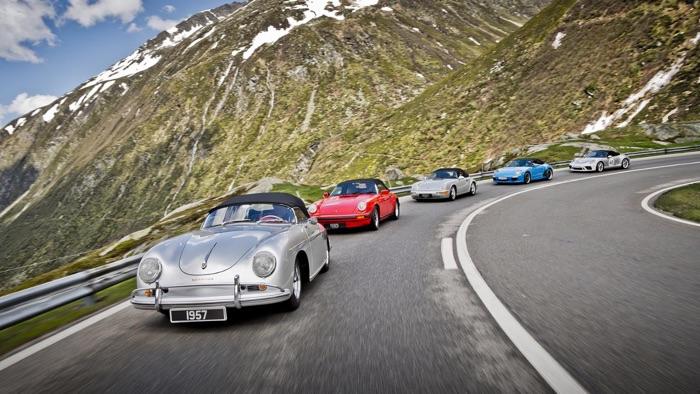 Porsche Gotthard Pass