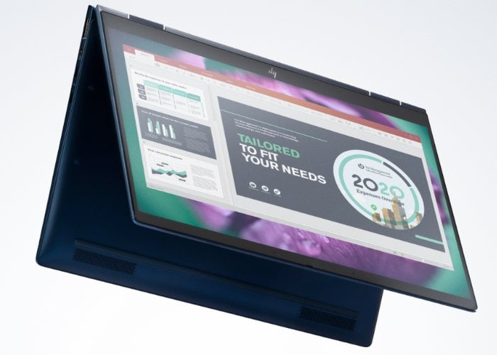 HP Elite Dragonfly 4G LTE convertible laptop built using recycled ocean-bound plastic