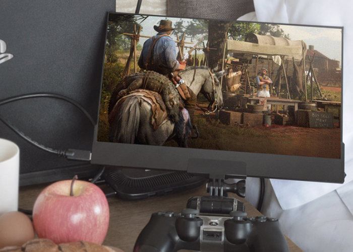 thinnest 4K 100%AdobeRGB handheld display