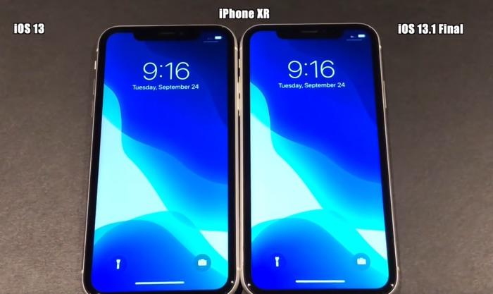 iOS 13.1 vs iOS 13