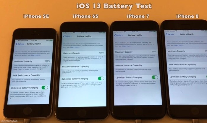 iOS 13 GM Battery Life Test (Video)