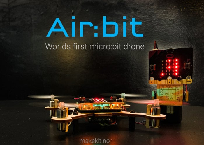 Air:bit worlds first micro:bit drone can be flown from your smartphone