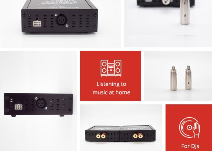 monoblock audio amplifier