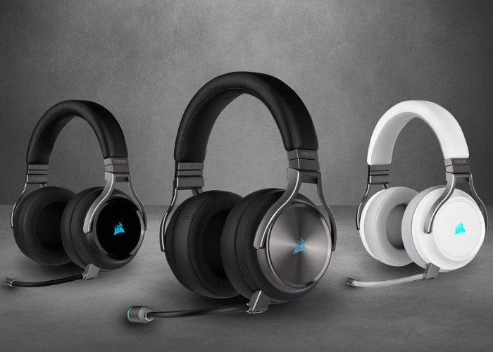 CORSAIR Virtuoso RGB wireless gaming headsets