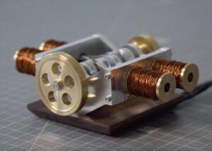 4 cylinder solenoid boxer engine