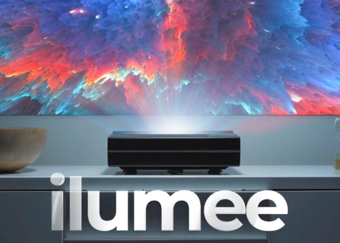 ilumee ultra short throw 4K LED Projector from $1,699