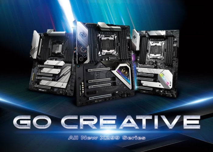 ASRock X299 Motherboards