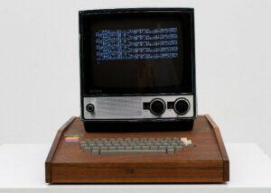 Apple 1 in wooden case